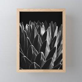 Agave Chic #8 #succulent #decor #art #society6 Framed Mini Art Print