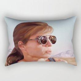 Sarah Connor Rectangular Pillow