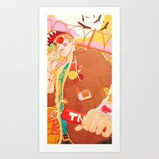 Cavity Kid Art Print