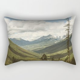 The Great Green Unknown Rectangular Pillow