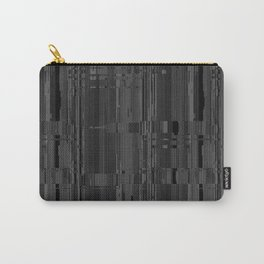 Geometric Texture Power Carry-All Pouch