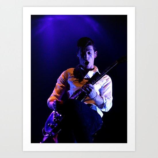 Alex Turner // Arctic Monkeys Art Print