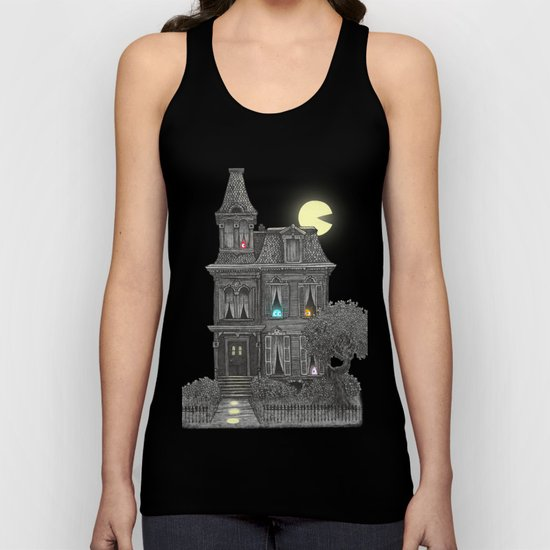 Haunted by the 80's Unisex Tank Top