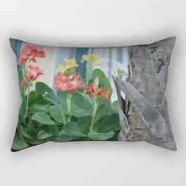 Candid Cannas Rectangular Pillow
