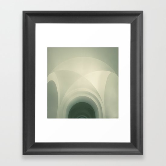 Above #1 Framed Art Print