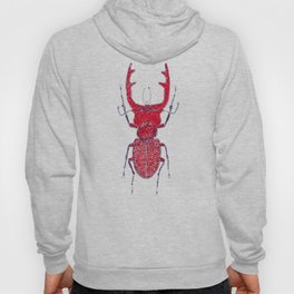 Stitches: Red stag Hoody
