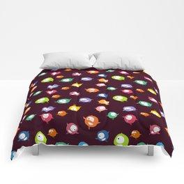 Tiny hyperactive creatures Comforters