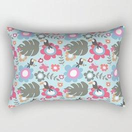 Mr Tuca blue Rectangular Pillow