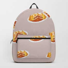 What I miss the most: Food Pattern Backpack