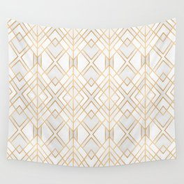 Golden Geo Wall Tapestry