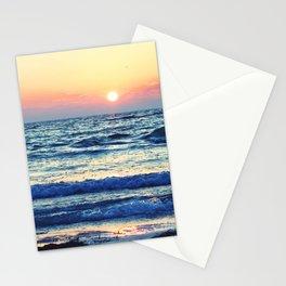 Sunset Beach. Photograph Stationery Cards