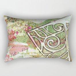 Let's fly away... Rectangular Pillow