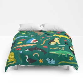 Lawn Party Comforters