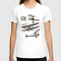 airplanes T-shirts featuring airplanes 3 by Кaterina Кalinich