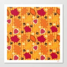 Autumn Print Canvas Print