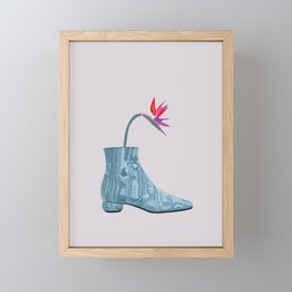 Boots With The Fleurs III Framed Mini Art Print