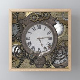 Steampunk Framed Mini Art Print