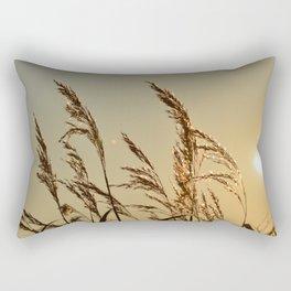 Tall Grasses Rectangular Pillow