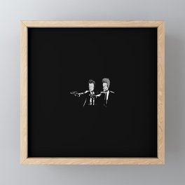 Gun Framed Mini Art Print