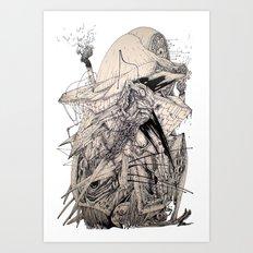 Eagleheart Art Print
