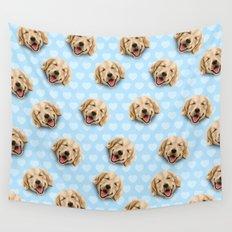 happy dog Wall Tapestry