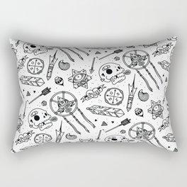 No Sleep Montage Rectangular Pillow
