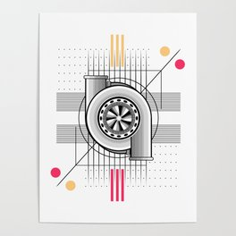Turbo engine Poster