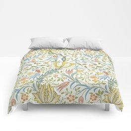 William Morris Flora Comforters