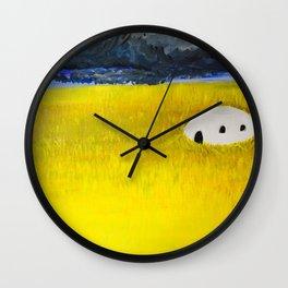 Future Past Wall Clock