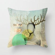 Audreys Virtue Throw Pillow