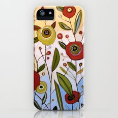 Abstract Floral Art ... FULL OF JOY, by Amy Giacomelli iPhone (5, 5s) Slim Case