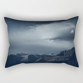 We wanted to sleep in the mountains Rectangular Pillow