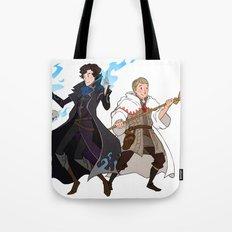Sherlock and John Tote Bag