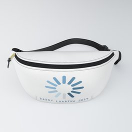 Baby Is Loading Boy Girl For Dad Announcement Gift Fanny Pack
