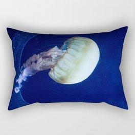 Jellyfish swimming Rectangular Pillow
