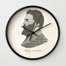 Herman Melville Wall Clock