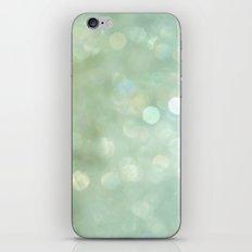 Bokeh Series - Sea Foam iPhone & iPod Skin