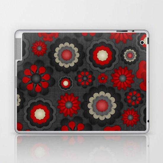 Dark Romance Floral Laptop & iPad Skin