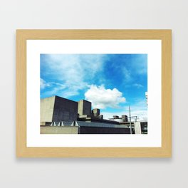 National Theatre Framed Art Print