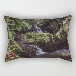 Jungle Waterfall Rectangular Pillow