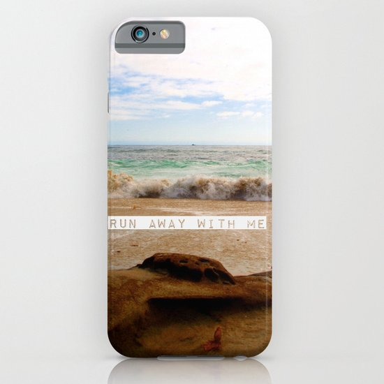 Run Away With Me iPhone & iPod Case