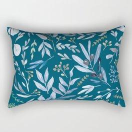 Eucalyptus Blue Rectangular Pillow