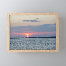 Destin Sunset Framed Mini Art Print