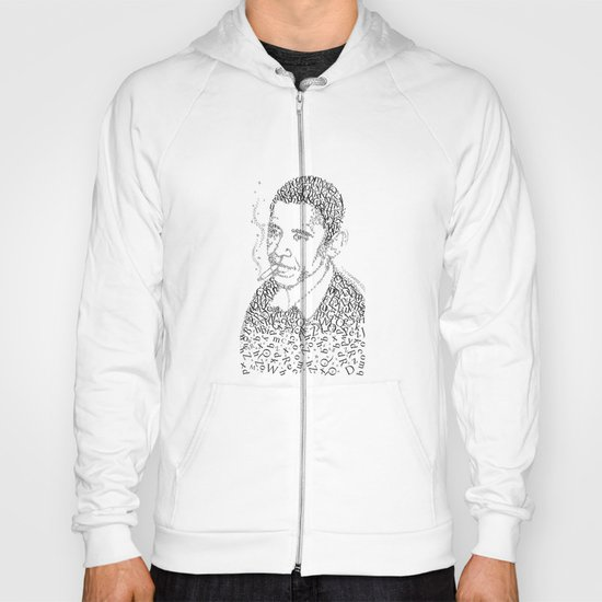 barac obama in the font of times Hoody