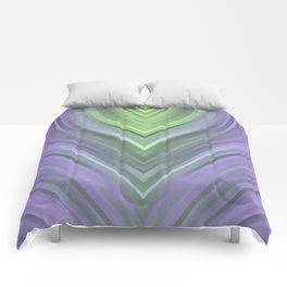 stripes wave pattern 3 cl Comforters