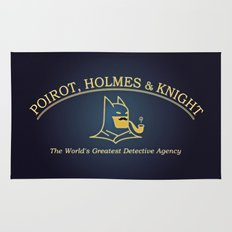 Great Detectives Rug