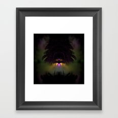 Tropical No Name Framed Art Print
