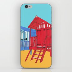 Thoughts of Summer // Beach Huts iPhone & iPod Skin