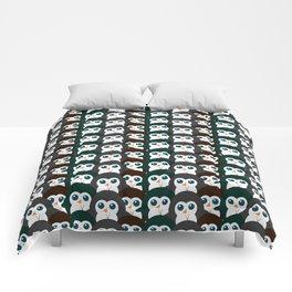 Penguin gathering Comforters