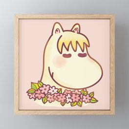 Snorkmaiden Framed Mini Art Print